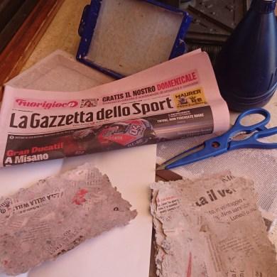 Carta pareggio - wie der Italiener sagt